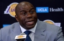 Magic Johnson wants Paul George tampering fine taken from his salary