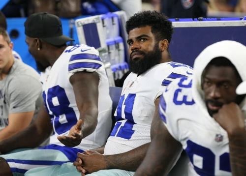 Cowboys RB Ezekiel Elliott's six-game suspension upheld after appeal