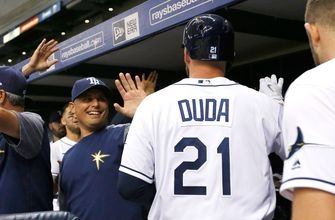 WATCH: Lucas Duda drives in both Rays' runs Tuesday night