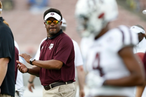 Regent's outburst almost guarantees Kevin Sumlin will make it through season as Texas A&M's coach