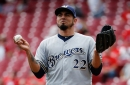 Reds 7, Brewers 1: Another bad outing by Garza leads to costly three-game sweep by Reds