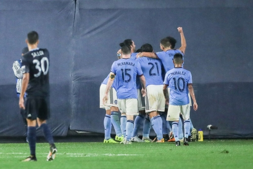 Sporting Kansas City drops crucial road point at NYFC