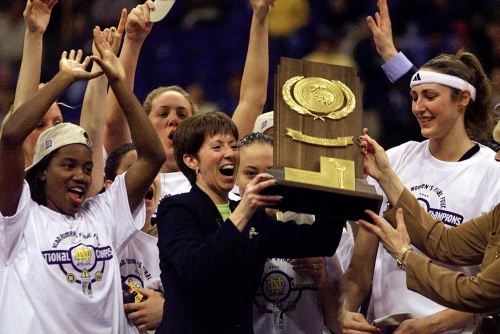 Noie: Notre Dame's Muffet McGraw takes rightful place among basketball's best
