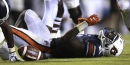 Auburn running back Kerryon Johnson has not practiced since hamstring injury