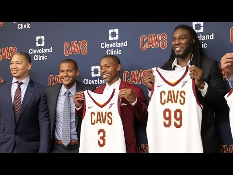 Tyronn Lue likes Cavaliers' moves, beyond Kyrie Irving trade