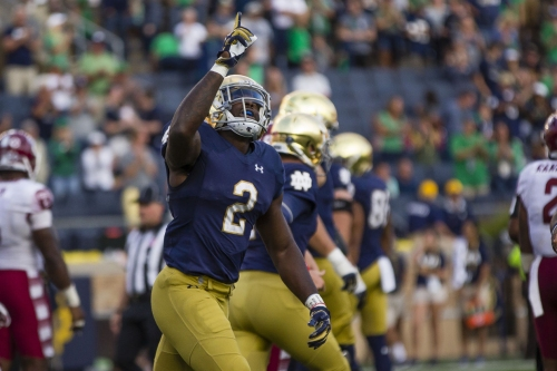 More than Georgia on Notre Dame RB Dexter Williams' mind