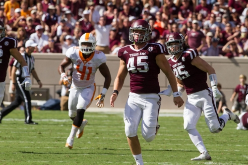 From home school 6-man football to A&M, Austin Frey living out childhood dream