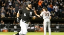 Abreu, White Sox Feast on Giants Pitching in 13-1 Rout