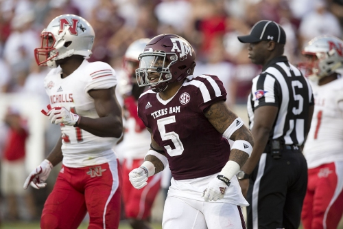 Hubenak, Bussey spark Texas A&M to 24-14 victory over Nicholls State
