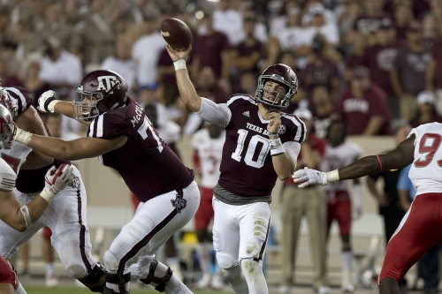 Brown: Jake Hubenak stakes claim to Texas A&M's starting QB job