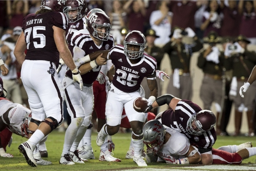 Aggies need Hubenak to pull them past FCS Colonels 24-14