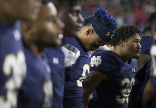 Vorel: Notre Dame suffers from familiar failure to finish