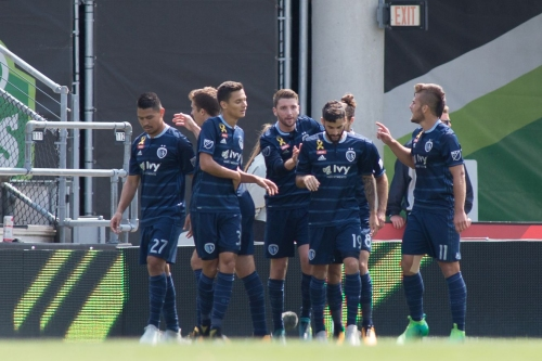 Sporting KC and Columbus split the points with 1-1 draw