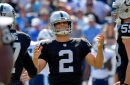 Giorgio Tavecchio makes NFL history, Amari Cooper has career first and other Raiders superlatives in season opening victory over Titans