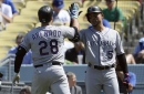 Rockies beat Dodgers 8-1 to complete sweep in Los Angeles