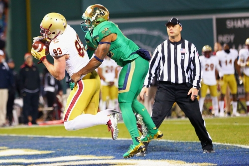 Notre Dame installed as 13 point favorite over Boston College