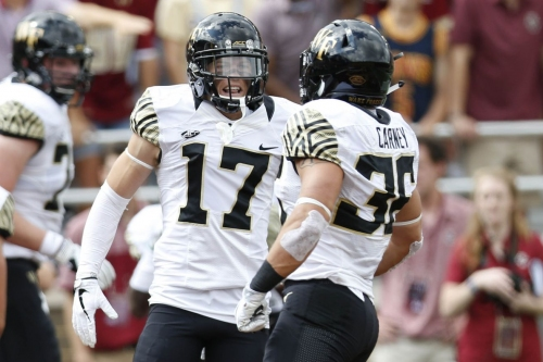 Wake Forest opens as a 13.5 point favorite over Utah State