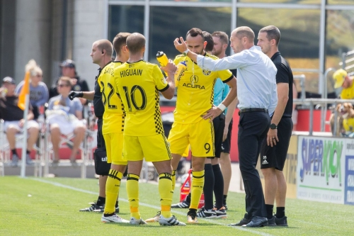 Second half substitutions don't help Columbus Crew SC