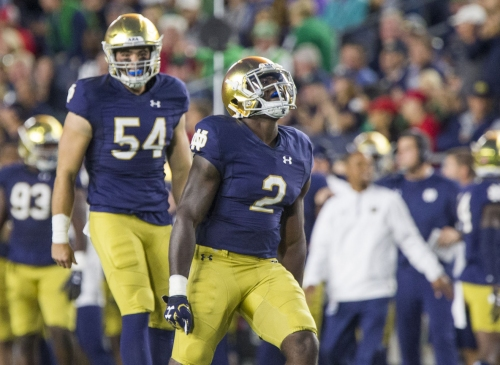 Analysis: An attempt to unravel Notre Dame RB Dexter Williams' disappearing act