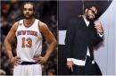 This fashion designer used to train the Knicks' Joakim Noah