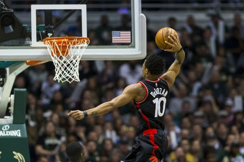 DeMar DeRozan makes it to no. 36 on SI's Top 100 players of 2018 list