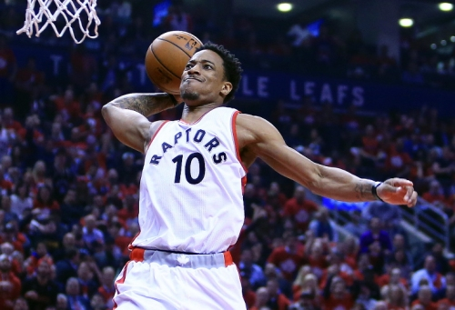 'F SI': Raptors' DeRozan unhappy with Sports Illustrated for pre-season rating