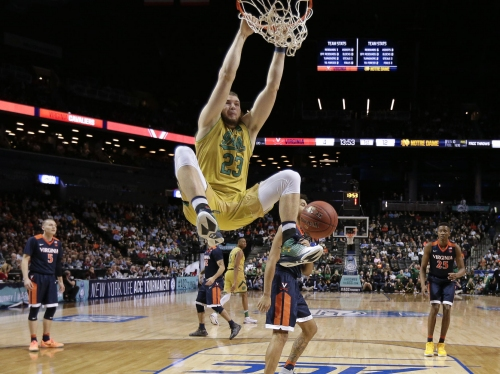Noie: Productive, proud basketball month for Notre Dame senior PF Martinas Geben