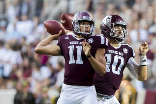 For better or worse, looks like Texas A&M is a two-QB team