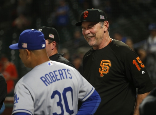 Bruce Bochy has been part of a game much later than Giants' Monday marathon