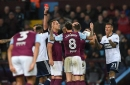 Aston Villa lodge appeal against Henri Lansbury's red card against Middlesbrough