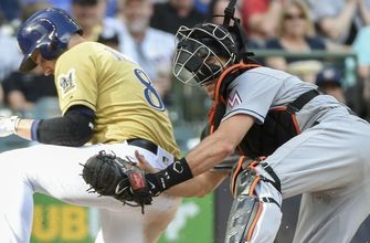 Marlins-Brewers series moved to Milwaukee as South Florida recovers from Irma
