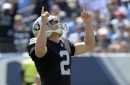Giorgio Tavecchio sticks with NFL dream and kicks way to history with Raiders