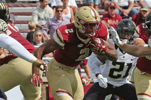 Football, family collide for Boston College's Dillon and Notre Dame great Gatewood