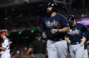 WATCH: Braves slugger Matt Kemp blasts first grand slam since 2011