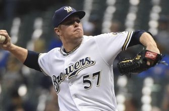 Chase Anderson solid on short rest as Brewers top Pirates 8-2