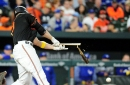 Chris Davis isn't giving much hope that his struggles will end