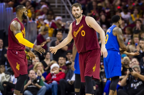 The Cavaliers have no plans to trade Kevin Love, per report