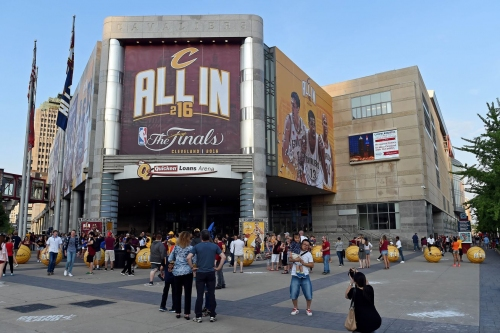 Construction begins on Quicken Loans Arena renovations