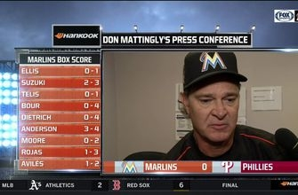 Don Mattingly points out positive aspects of shutout loss
