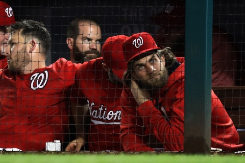 Wire Taps: Bryce Harper jogs in Nationals Park; Nats avoid sweep with win over the Braves...