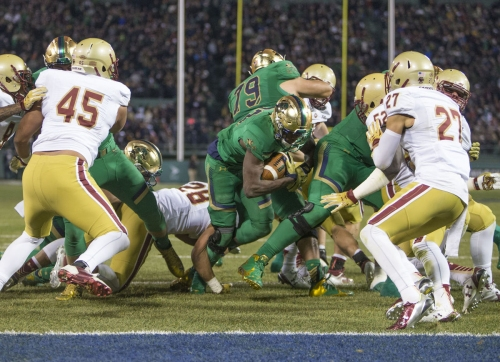 Vorel: In Notre Dame-Boston College series, ugly is no longer enough