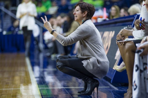 Plenty of road tests for Notre Dame women's hoops in 2017-18