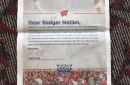 Florida Atlantic head coach Lane Kiffin thanks Wisconsin in full-page newspaper ad