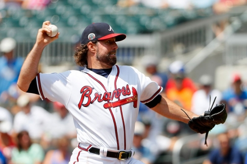 The Mets will pay R.A. Dickey a visit at SunTrust Park this weekend
