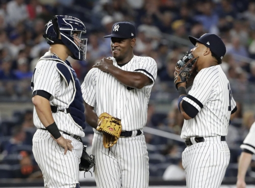 Luis Severino dominates over eight innings as Yankees rout O's