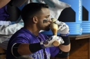 Tyler Chatwood returns to rotation form as Rockies runaway from the Padres at Coors Field