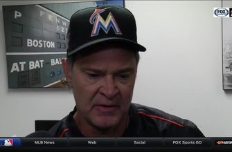 Don Mattingly reacts to loss to Brewers