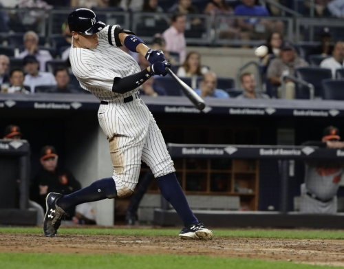 If Judge can push Yankees past Sox, MVP would be back in play