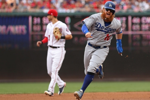 Washington Nationals drop second straight to Los Angeles Dodgers, 3-2, fourth loss in five since clinching...