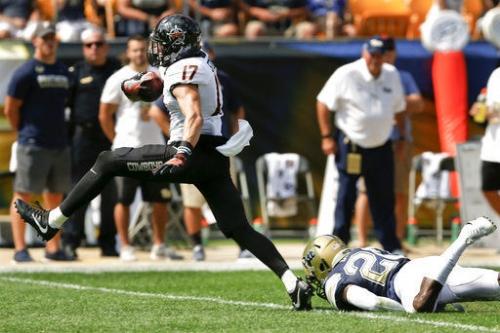 Mason Rudolph throws 5 TDs, No. 9 Oklahoma State dismantles Pitt